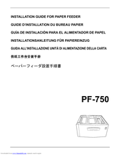 Kyocera KM-C3225 Installation Manual