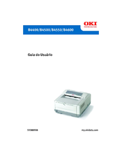 Oki B4600 Series Manual Do Utilizador