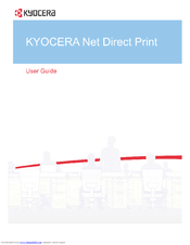 Kyocera TASKalfa 3501i Operation Manual