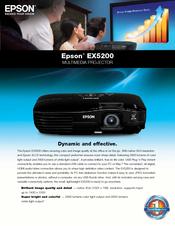 epson ex5200 manuals rh manualslib com Composite Cable for Epson Projector epson ex5200 projector review