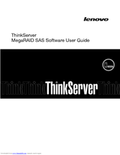 LENOVO THINKSERVER RD330 SOFTWARE USER'S MANUAL Pdf Download