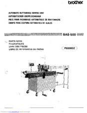 Brother BAS-500 Parts Book