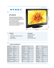 Dynex DX-37L200A12 Product Specifications