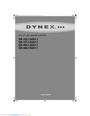 Dynex DX-32L150A11 User Manual