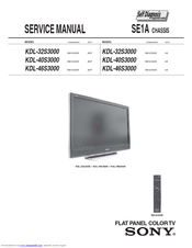sony bravia kdl 32s3000 manuals rh manualslib com service manual sony tv service manual sony vaio vgn z 899
