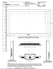 sony kdl 40ex400 bravia ex series lcd television manuals rh manualslib com Sony Bravia TV Stand Sony BRAVIA 40 Inch