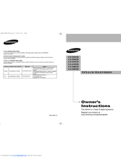 Samsung LN-S4051D Owner's Instructions Manual