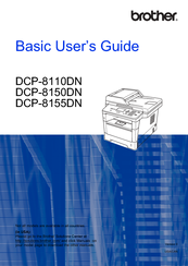 Brother DCP-8150DN Basic User's Manual