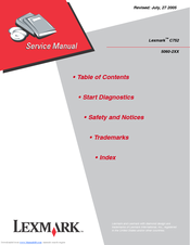 lexmark c752 service manual
