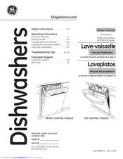 Ge Gdf520pgdww Manuals