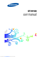 Samsung Galaxy S II GT-I9100 User Manual