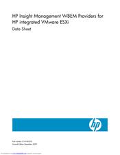 Hp BL460c - ProLiant - G5 Manuals