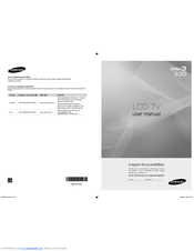 Samsung LN40A330J1D User Manual