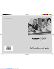 Lenovo 10005 Safety And Warranty Manual