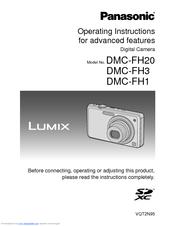 panasonic lumix dmc fh20 manuals rh manualslib com panasonic lumix camera dmc fh20 manual Panasonic Lumix G