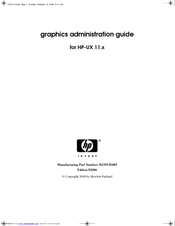 HP c3750 - Workstation Administration Manual