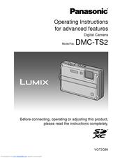 panasonic lumix dmc ts2 manuals rh manualslib com Panasonic Lumix DMC FZ30 Software Panasonic Lumix DMC FZ30 Software