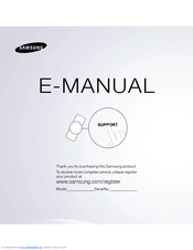 Samsung UN55ES8000F E-manual