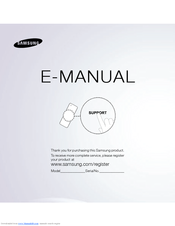Samsung UN46ES7500FXZA E-manual