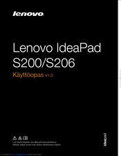Lenovo IdeaPad S200 User Manual