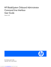 HP Xw460c - ProLiant - Blade Workstation User Manual