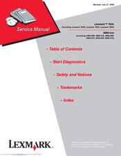lexmark t632 service manual pdf download rh manualslib com lexmark t632 manual pdf lexmark t630 manual pdf