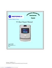 Motorola Razr V3 Manual Pdf