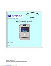 motorola razr v3 cell phone 5 mb repair manual pdf download rh manualslib com Motorola RAZR V3i Applications Motorola RAZR V9