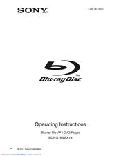 sony bdp s185 manuals rh manualslib com sony blu-ray disc/dvd player bdp-s185 manual sony blu ray dvd player bdp-s185 manual