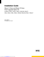 Wyse R90L7 Installation Manual