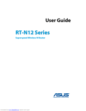 Asus RT-N12 Series User Manual
