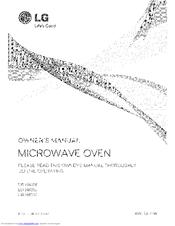 lg lmv1683sw manuals rh manualslib com LG Dryer Parts Microwave Replacement Parts for LG
