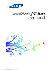 Samsung galaxy y s5360 user guide manual.