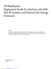 HP P2000 Deployment Manual