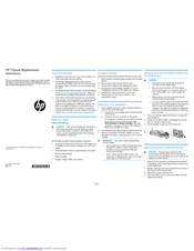 HP P2000 Replacement Instructions