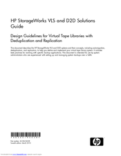 HP StorageWorks 12000 Manual