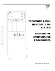 fresenius medical care 2008k manuals rh manualslib com fresenius 2008t troubleshooting manual fresenius 2008k user manual