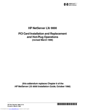 HP D7171A - NetServer - LPr Manual
