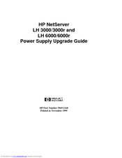 HP D7171A - NetServer - LPr Upgrade Manual