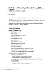 HP D7171A - NetServer - LPr Installation Manual