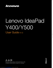 Lenovo IdeaPad Y500 User Manual