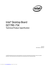 INTEL DZ77RE-75K DESKTOP BOARD RECOVERY DRIVERS FOR MAC