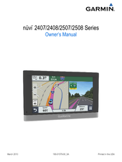 free garmin nuvi 255w manual