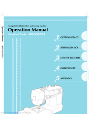 Brother HE-240 Operation Manual