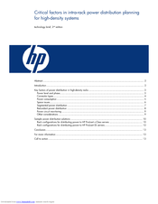 HP DL2x170h - ProLiant - G6 Introduction Manual