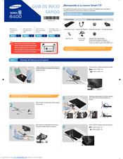 Samsung UN55F6400AF Guía De Instalación
