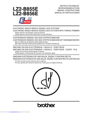 Brother LZ2-B855E Instruction Manual