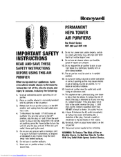 Honeywell HHT-100 Series Safety Manual