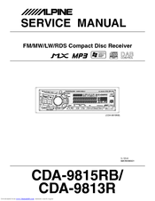 441799_cda9813_product alpine cda 9813 manuals alpine cda 9811 wiring diagram at bayanpartner.co