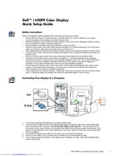 dell ultrasharp 1800fp manuals rh manualslib com Dell Monitors Dell 2001FP
